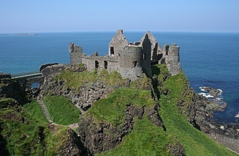 Explore the fascinating ruins of Dunluce Castle!