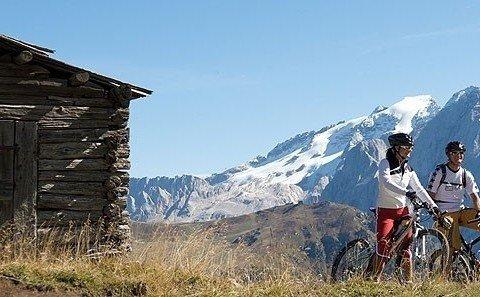 Vor der Abfahrt ins Val Duron