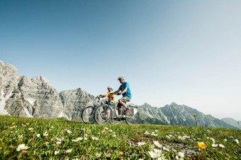 Das Stubaital bietet viele Möglichkeiten für Radtouren mit dem E-Bike