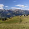 Tolle Ausblick auf die Berge während der Tour.
