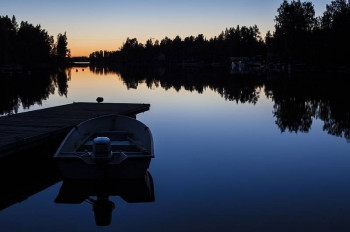 Boat ride on Lake Saimaa