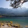 Sonnenbaden mit Bergpanorama - Was sollte schöner sein?