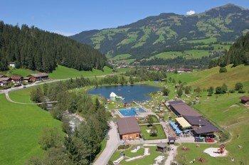 Abkühlung und Entspannung bietet das Salvenaland Hopfgarten