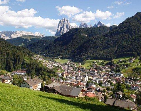 Blick auf St. Ulrich