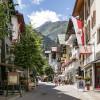 Ortszentrum von St. Anton am Arlberg