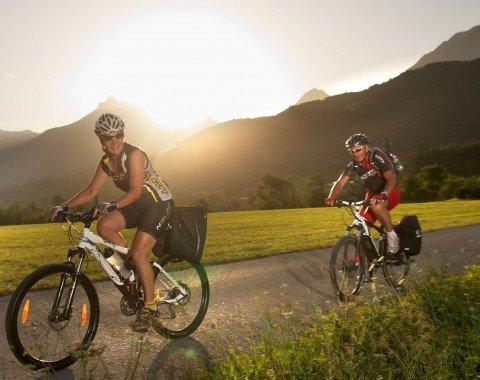 Radfahren durch das bezaubernde Inntal