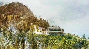 Am Pendlinghaus (1.565m) ist die Aussicht herrlich.