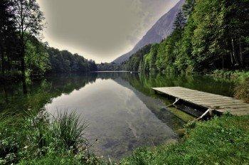 Der Stimmersee ist einer der landesweit saubersten Seen.