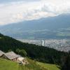 Von der Höttinger Alm aus hat man einen herrlichen Blick über Innsbruck