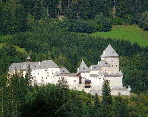 Blick auf Schloss Moosham