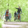 Another stage destination is Oberwald forest - third nature sphere of the Rhine plane, and a recreational forest near the city.