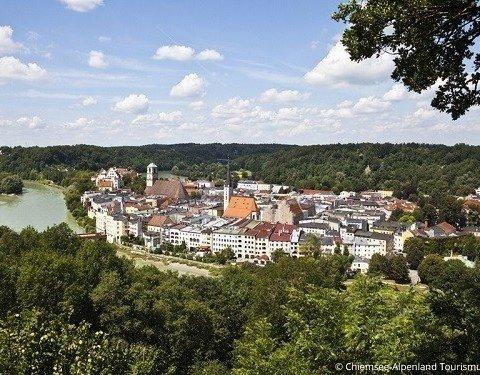 Die Innschleife in Wasserburg