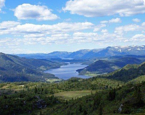 Die wunderschöne Landschaft Telemarks