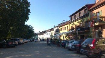 Unser Tip für die Einkehr in Frymburk: Das Hotel Maxant direkt am Marktplatz