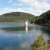 The fresh water reservoir Kleine Kinzig