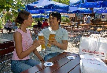 Biergarten Wasserwirtschaft in Cham