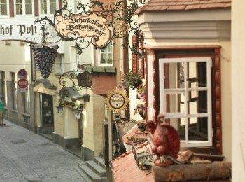 Die Römerhofgasse in der Kufsteiner Altstadt