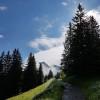 Bei der aussichtsreichen Radtour fährst du am Fuße der Kanisfluh entlang, einem weitgehend isoliert stehenden Bergmassiv im zentralen Bregenzerwaldgebirge .