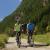 Entlang dem Bikeweg von Täsch nach Randa
