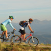 Mountainbiker unterwegs