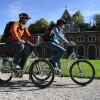 Saline Bike Trail leads past the Old Saline in Bad Reichenhall.
