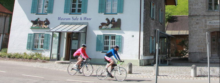 Das Museum Salz & Moor in Grassau