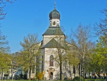 Die Salinenkapelle in Traunstein ist die größte Kapelle Deutschlands.