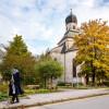 Salzmaier vor der Salinenkapelle in Traunstein