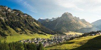 Start- und Zielpunkt der Wanderung ist Lech am Arlberg.