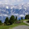 Blick ins Inntal und ins Karwendelmassiv