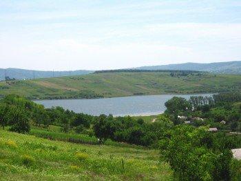 Der Ciurbești See