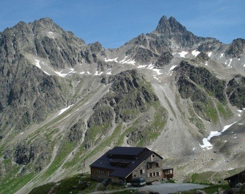Bike Trail Tritschalpe - Roßfallalm – Darmstädterhütte