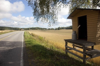 Lakeland, Vesijärvi, Radweg, Finnland