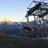 Mit der Bergbahn aufs Rothorn