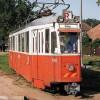 Alte Straßenbahn in Rășinari