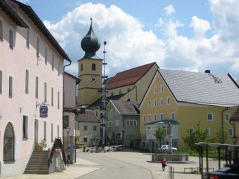Marktplatz in Ruhmannsfelden
