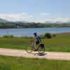 Rad fahren am Wallersee