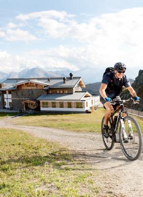 Die Gegend ist bekannt für seine Radtouren