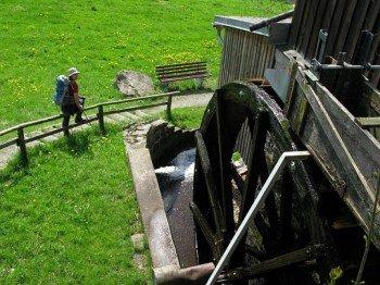Radfahrer und Wanderer kehren gern in der Alten Mühle Gehenhammer ein