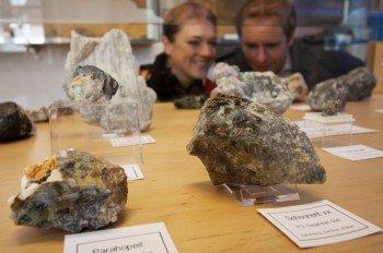Mineralogie im Stadtmuseum Pleystein