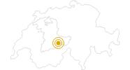 Wanderung Schynige Platte - Männdlenen - Faulhorn - First in der Jungfrau Region: Position auf der Karte