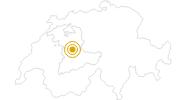 Wanderung Wanderung Höhenwanderung über den Churzenberg in Interlaken: Position auf der Karte