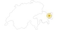 Hike Schellenursli path: Guarda - Via Uorsin in Scuol Samnaun Val Müstair: Position on map