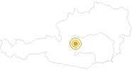 Wanderung Vom Hüttendorf Pruggern auf das Schladminger Törl und den Lafenberg in Schladming-Dachstein: Position auf der Karte