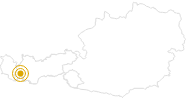 Hike Valley path Ischgl in Paznaun - Ischgl: Position on map
