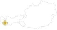 Hike Zeinisjoch in Paznaun - Ischgl: Position on map