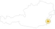 Wanderung Walderlebnisweg Limbach im Südburgenland: Position auf der Karte