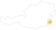 Hike Hianznpfad - Hianznpath in the Südburgenland: Position on map