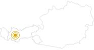 Wanderung Rundwanderweg Riegetal im Pitztal: Position auf der Karte