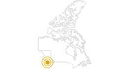Wanderung Wild Pacific Trail auf Vancouver Island: Position auf der Karte